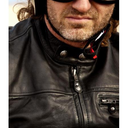 Roland Sands Lederjacke - Ronin Schwarz