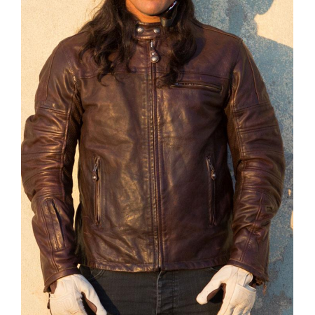 Roland Sands Leather Jacket - Ronin Tobacco