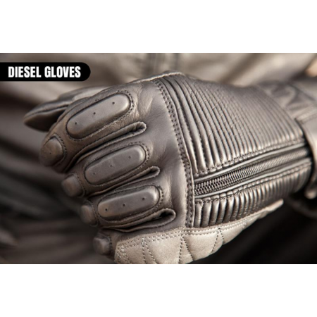 Roland Sands Design Gloves - Dezel Black
