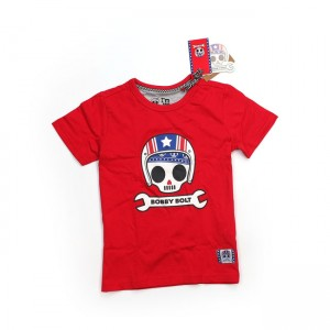 Bobby Bolt T-Shirt - USA Red