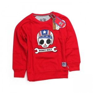 Bobby Bolt Sweater - USA Red