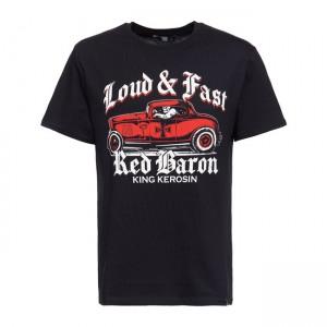 King Kerosin T-Shirt - Red...