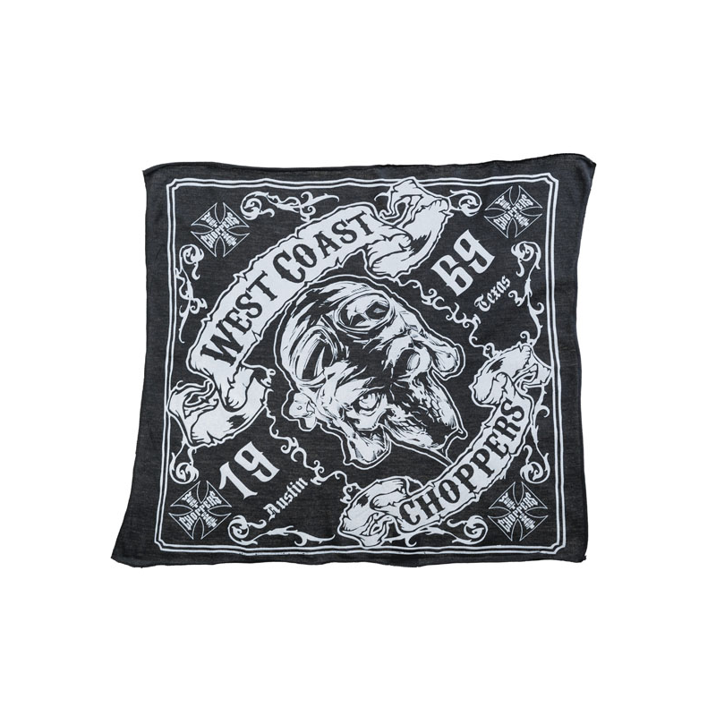 West Coast Choppers Bandana - Skull 13