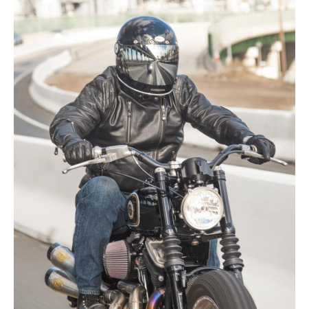 Roland Sands Leather Jacket - Clash Black