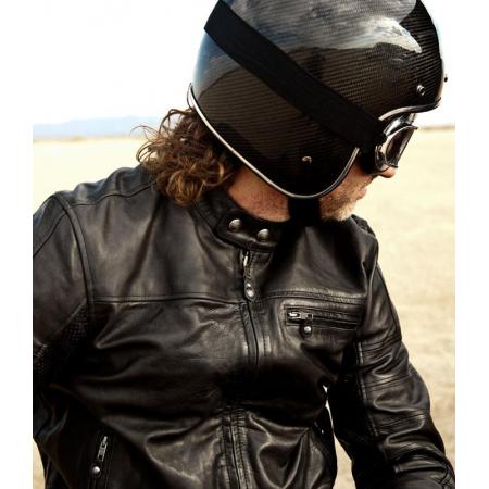 Roland Sands Leather Jacket - Ronin Black