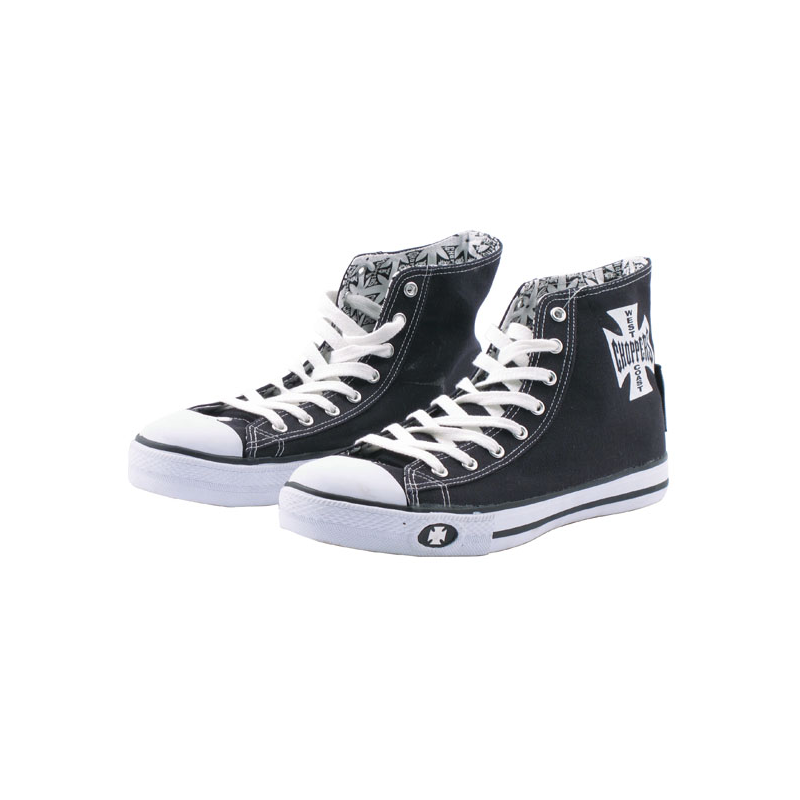 West Coast Choppers Schuhe - Warriors Schwarz