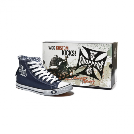 West Coast Choppers Schuhe - Warriors Blau