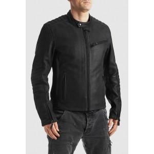 Pando Moto Leather Jacket -...