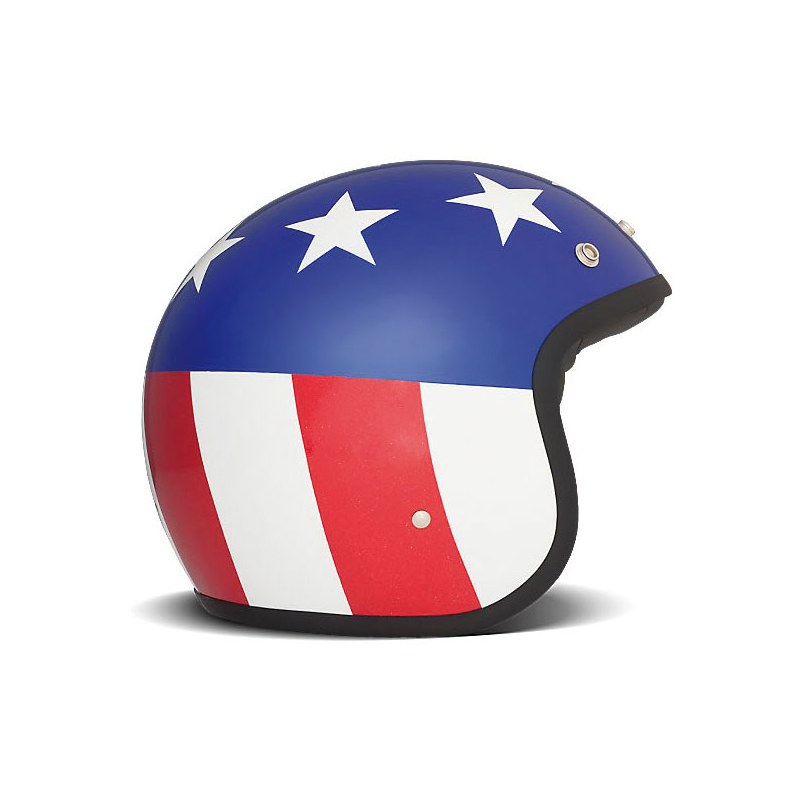 DMD Helm Vintage - USA Flag mit ECE