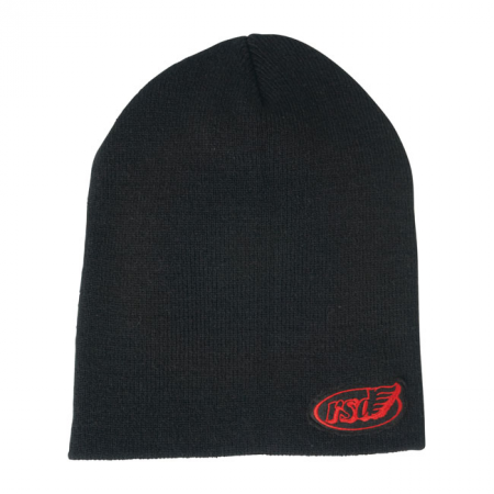 Roland Sands Design Beanie - Cafe Wing Work Schwarz