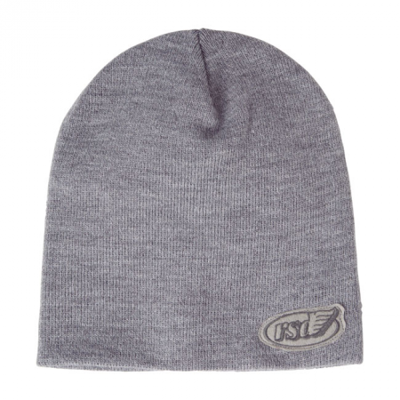 Roland Sands Design Beanie - Cafe Wing Work Grau