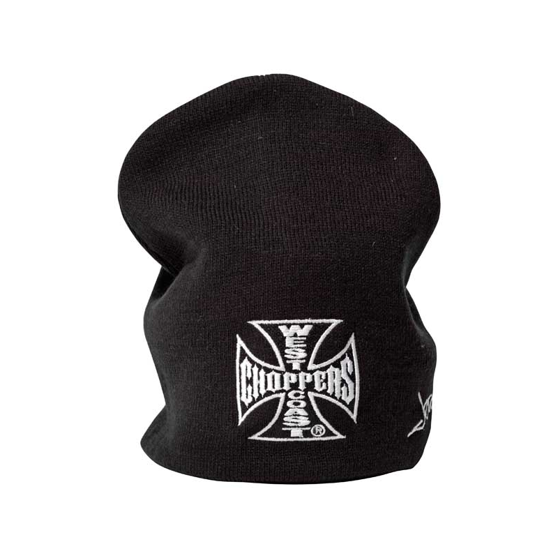 West Coast Choppers Beanie - OG Schwarz