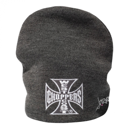 West Coast Choppers Beanie - OG Grey