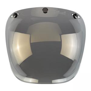 Biltwell Bubble Visor - Gold Mirror