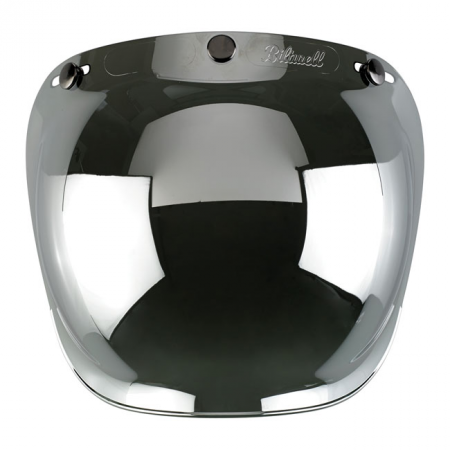 Biltwell Bubble Visier - Chrome Mirror