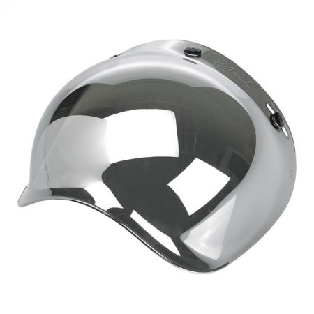 Biltwell Bubble Visier - Chrome Mirror