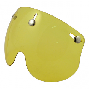 Bandit Jet Helm Visier Kurz - Yellow
