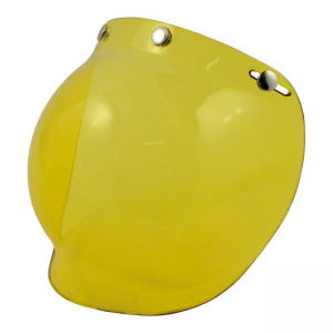 Bandit Jet Helm Bubble Visier - Yellow
