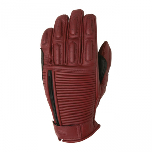 Roland Sands Design Ladies Gloves - Gezel Oxblood Red