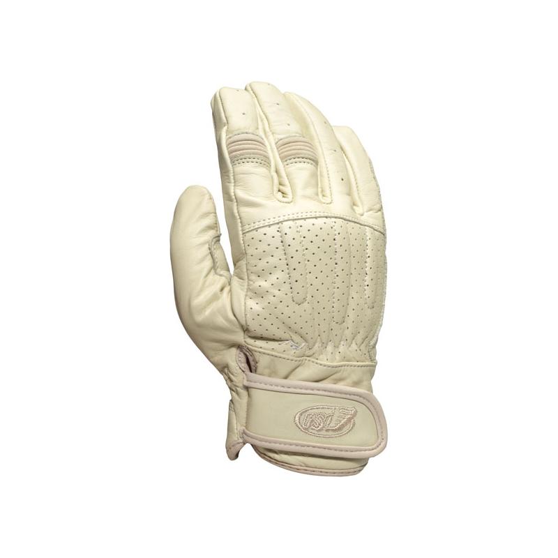 Roland Sands Design Handschuhe - Barfly Weiss