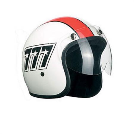 Bandit Jet Helm Visier Kurz - Clear