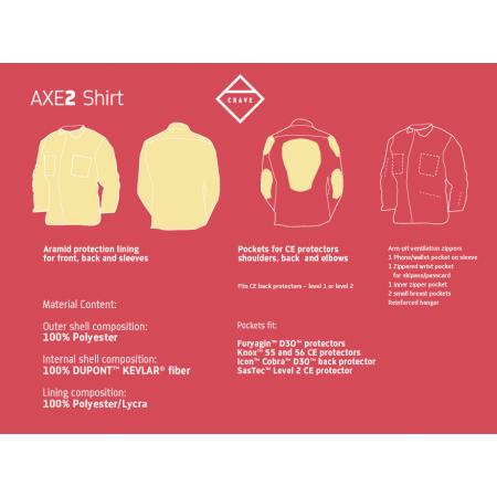 Crave Shirt - AXE 2 FLAME