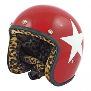 Bandit Helm Jet - Star Rot...
