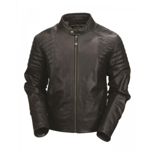 Roland Sands Leather Jacket - Bristol Black