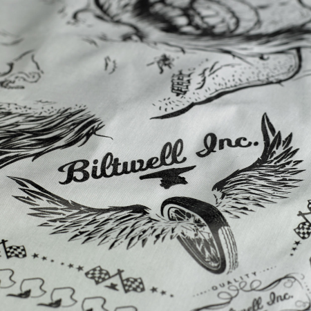 Biltwell Mandana - Beard Grau