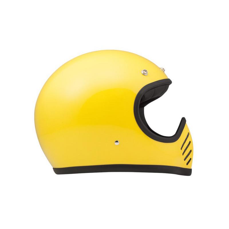 DMD Helmet Seventy Five - Yellow with ECE