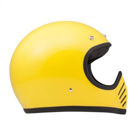 DMD Helm Seventy Five - Gelb mit ECE