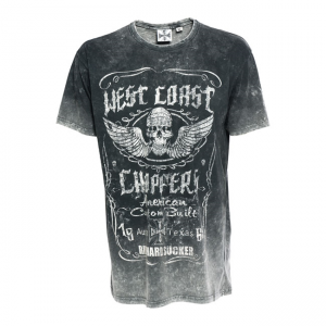 West Coast Choppers T-Shirt - Ride Hard Sucker