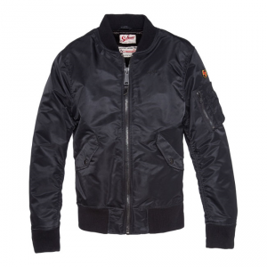 Schott NYC Jacket - American Collage Black