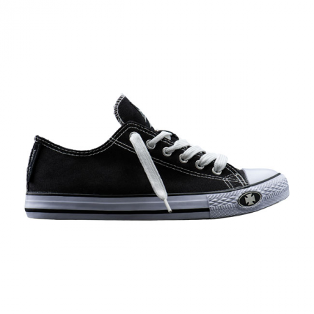 West Coast Choppers Sneakers - Warrior Low-Tops Black