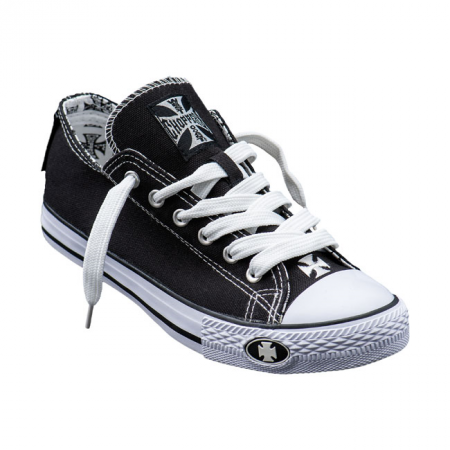 West Coast Choppers Sneakers - Warrior Low-Tops Schwarz