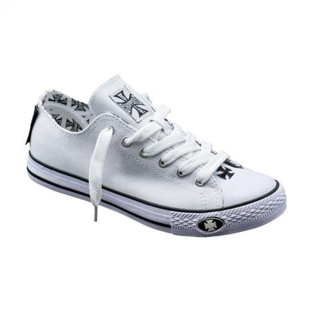 West Coast Choppers Sneakers - Warrior Low-Tops Weiß