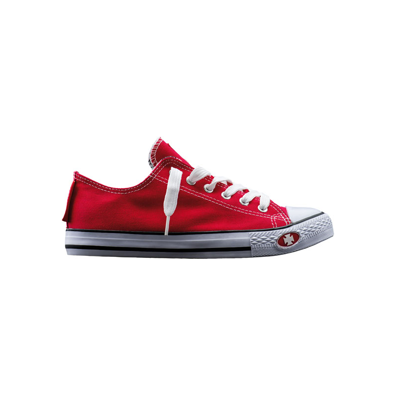 West Coast Choppers Sneakers - Warrior Low-Tops Red