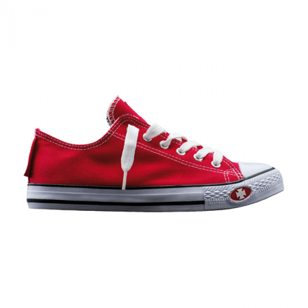 West Coast Choppers Sneakers - Warrior Low-Tops Rot