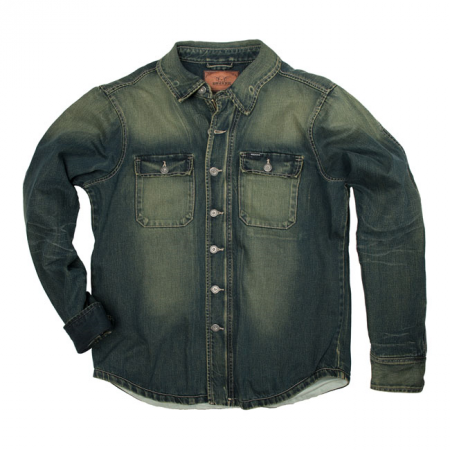 Rokker Denim Rider Shirt - Stonewashed