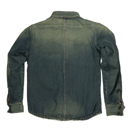 Rokker Denim Rider Shirt - Stonewashed