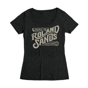 Roland Sands Design Ladies T-Shirt - RSD OG Black