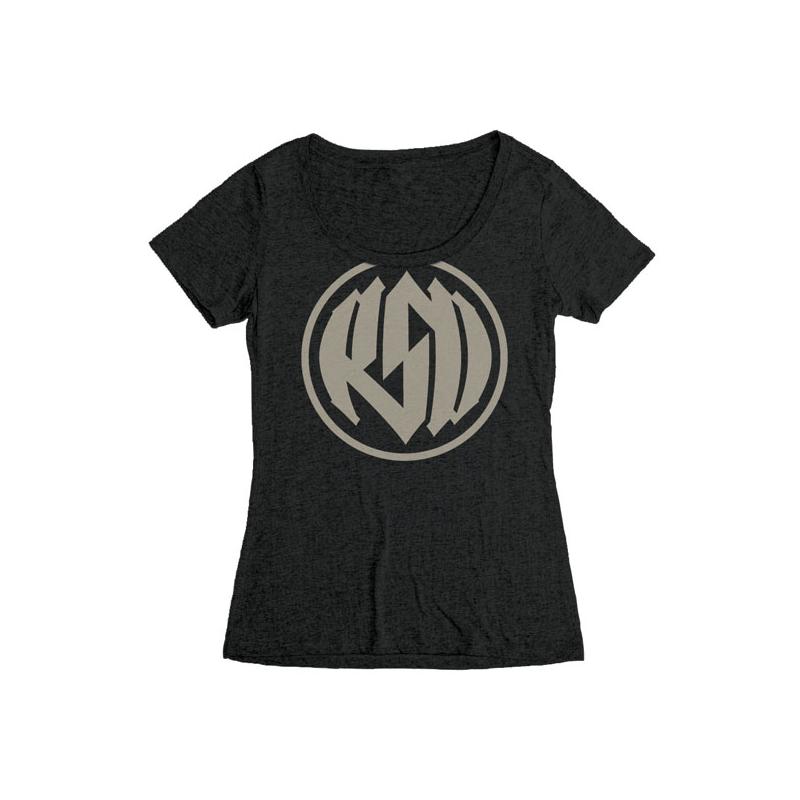 Roland Sands Design Frauen T-Shirt - Logo Schwarz