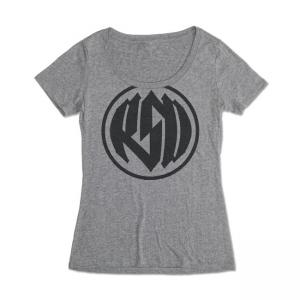 Roland Sands Design Frauen T-Shirt - Logo Grau