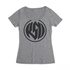 Roland Sands Design Ladies T-Shirt - Logo Grey
