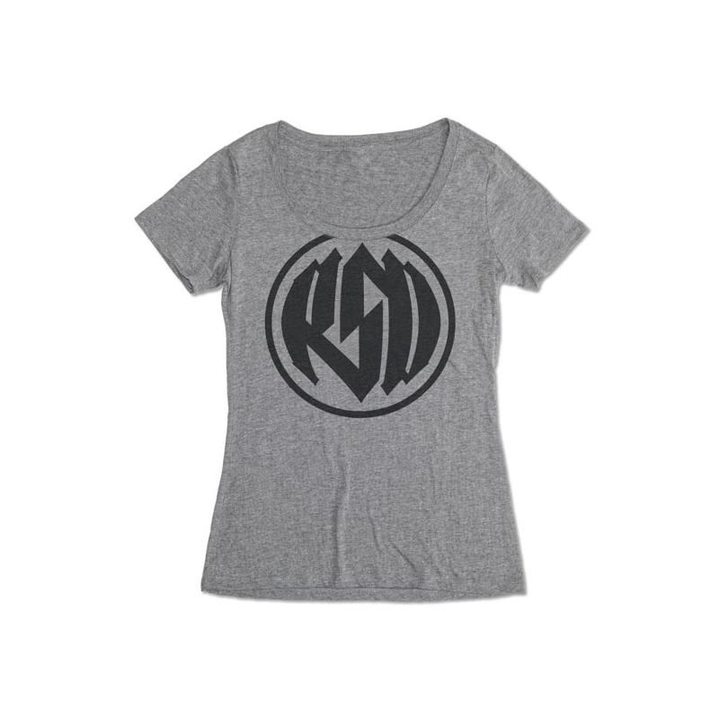 Roland Sands Design Ladies T-Shirt - Logo Grey