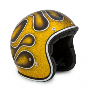 70s Helmet Superflake - Flames 2016 with ECE
