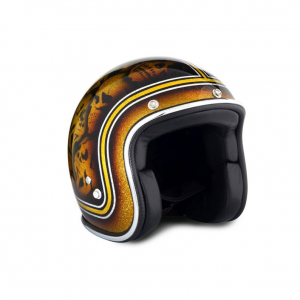 70s Helmet Superflake - Skulls with ECE