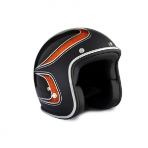 70s Helmet Superflake - Black Scallops 2014 with ECE
