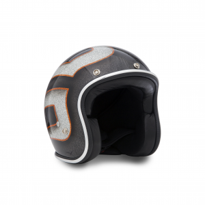 70s Helmet Superflake - Black Scallops 2013 with ECE