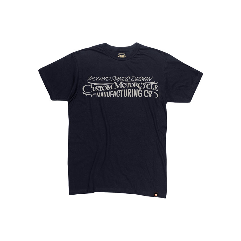Roland Sands Design T-Shirt - Custom MC Schwarz